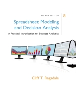 """Spreadsheet Modeling & Decision Analysis: A Practical Introduction to Business Analytics"" (9781337517317)"