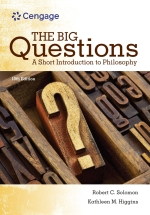 """The Big Questions: A Short Introduction to Philosophy"" (9781337517447)"