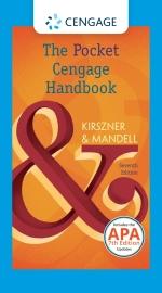 """""""The Pocket Cengage Handbook, 2016 MLA Update, Spiral bound Version"""""""