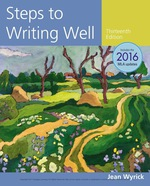 """Steps to Writing Well, 2016 MLA Update"" (9781337517850)"