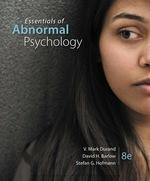 """Essentials of Abnormal Psychology"" (9781337670777)"