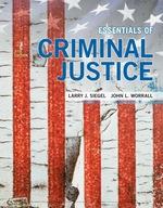 """""""Essentials of Criminal Justice"""" (9781337670821)"""