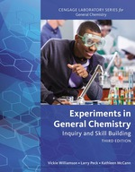 """""""Experiments in General Chemistry: Inquiry and Skill Building"""" (9781337670906)"""