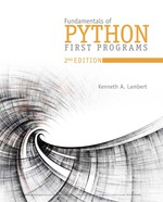 """Fundamentals of Python: First Programs"" (9781337671019)"