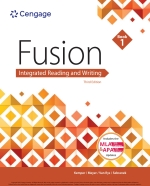 """""""Fusion: Integrated Reading and Writing, Book 1"""" (9781337671026)"""