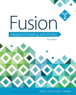 """Fusion: Integrated Reading and Writing, Book 2"" (9781337671033)"