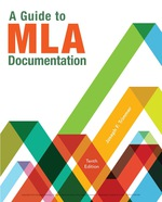 """A Guide to MLA Documentation"" (9781337671101)"