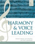 """Harmony and Voice Leading"" (9781337671149)"