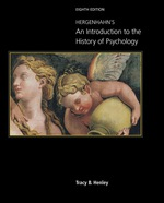 """""""Hergenhahn's An Introduction to the History of Psychology"""" (9781337671255)"""