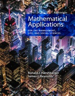 """""""Mathematical Applications for the Management, Life, and Social Sciences"""" (9781337671569)"""