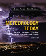 """""""Meteorology Today: An Introduction to Weather, Climate and the Environment"""" (9781337671576)"""