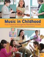 """Music in Childhood Enhanced: From Preschool through the Elementary Grades, Spiral bound Version"" (9781337671637)"