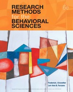 """""""Research Methods for the Behavioral Sciences"""" (9781337672023)"""