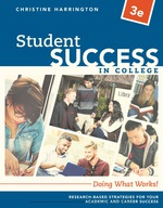 """""""Student Success in College: Doing What Works!"""" (9781337672160)"""