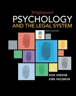 """Wrightsman's Psychology and the Legal System"" (9781337672412)"