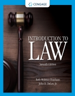 """Introduction to Law"" (9781337798853)"