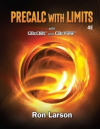 Courseware WebAssign for Larson's Precalculus with Limits, 4th Edition  [Instant Access], Single-Term
