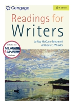 """""""Readings for Writers"""" (9781337905619)"""