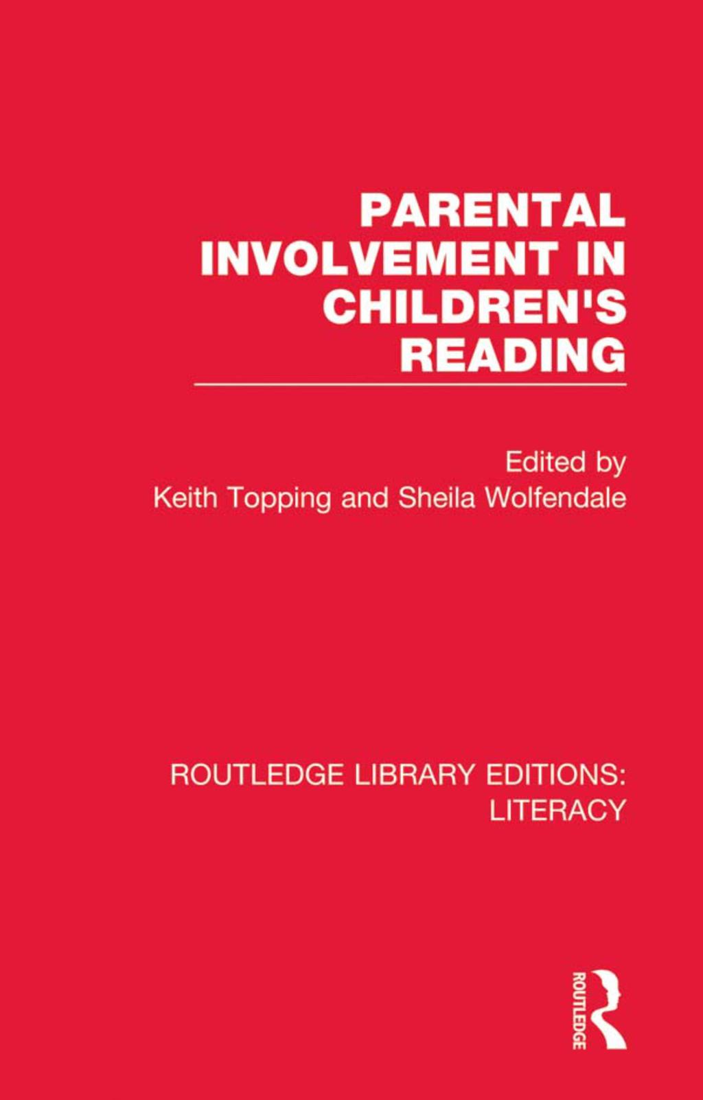 Parental Involvement in Children's Reading (eBook Rental)