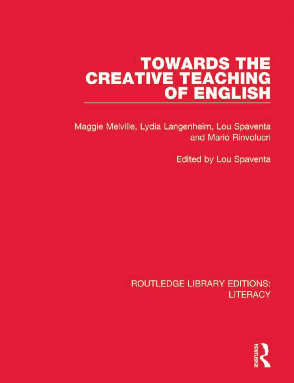 Towards the Creative Teaching of English (eBook Rental)