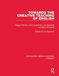 Towards the Creative Teaching of English 9781351236126