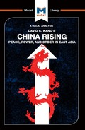 China Rising: Peace, Power and Order in East Asia 9781351352079