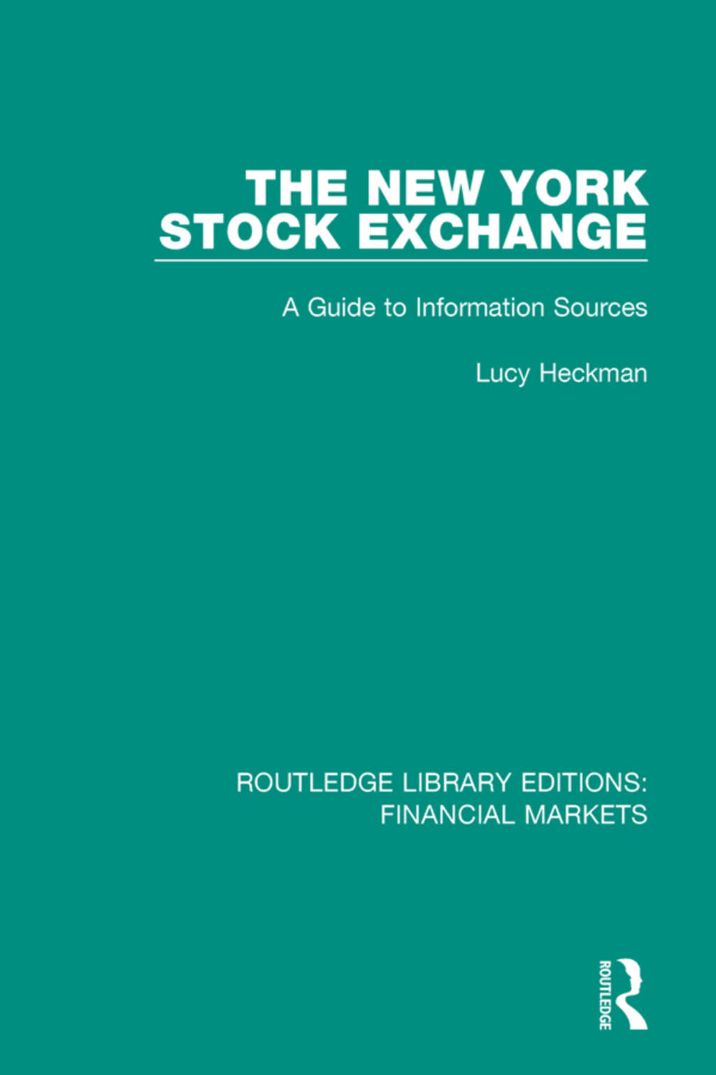 The New York Stock Exchange (eBook Rental)