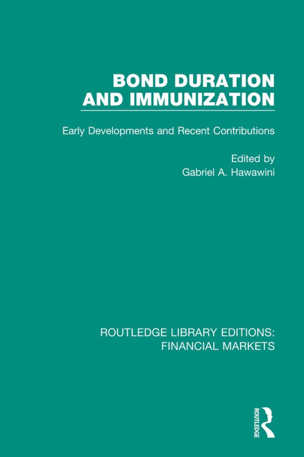 Bond Duration and Immunization (eBook Rental)