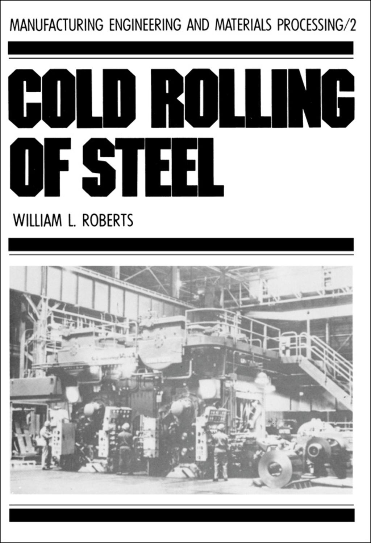 Cold Rolling of Steel (eBook Rental)