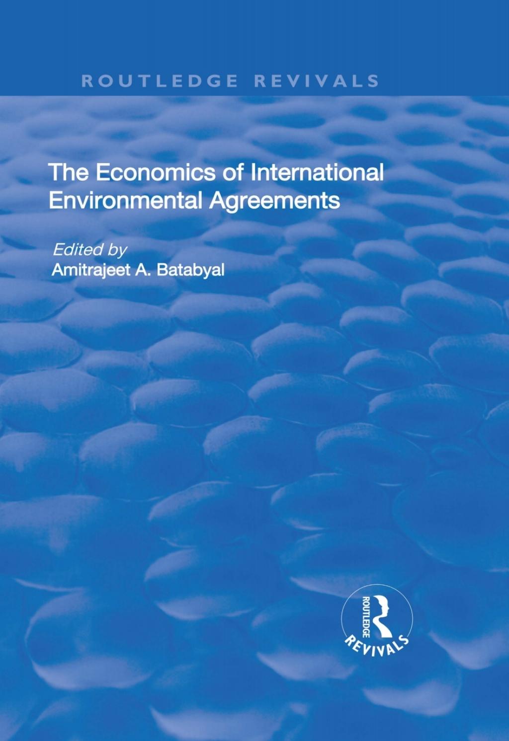 The Economics of International Environmental Agreements (eBook Rental)