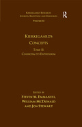 Volume 15, Tome II: Kierkegaard's Concepts 9781351875028R90
