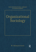 Organizational Sociology 9781351913331R90