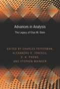 Advances in Analysis 9781400848935