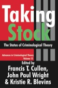 Taking Stock 9781412809832