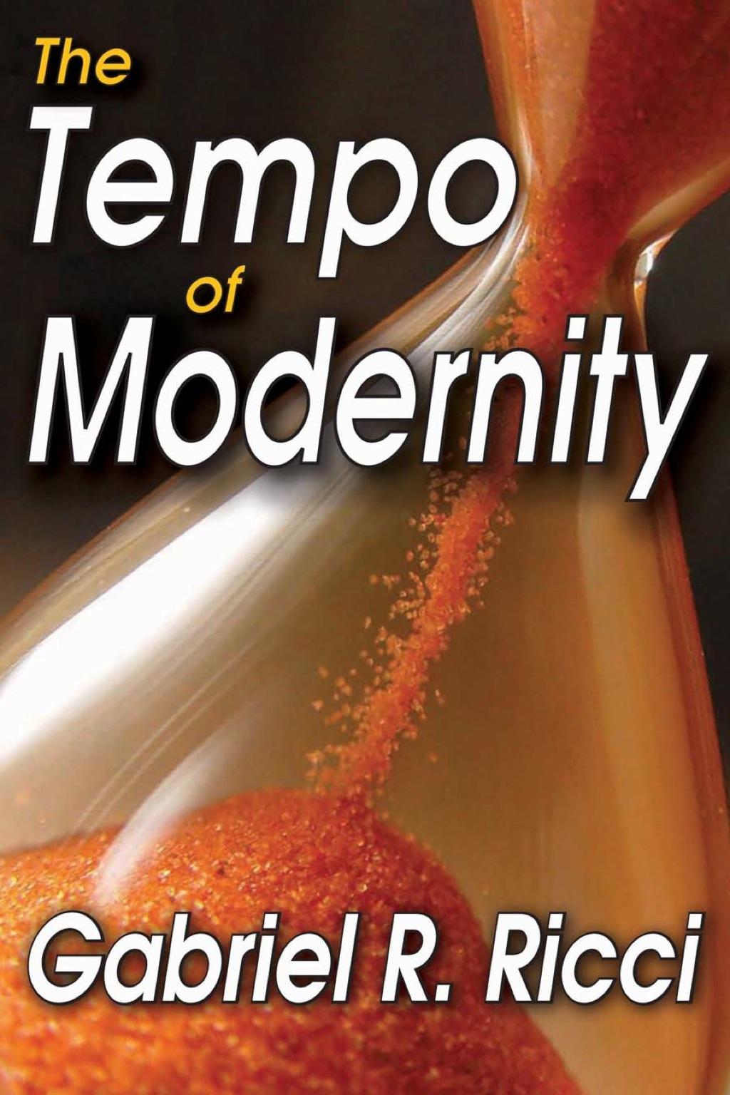 The Tempo of Modernity (eBook)