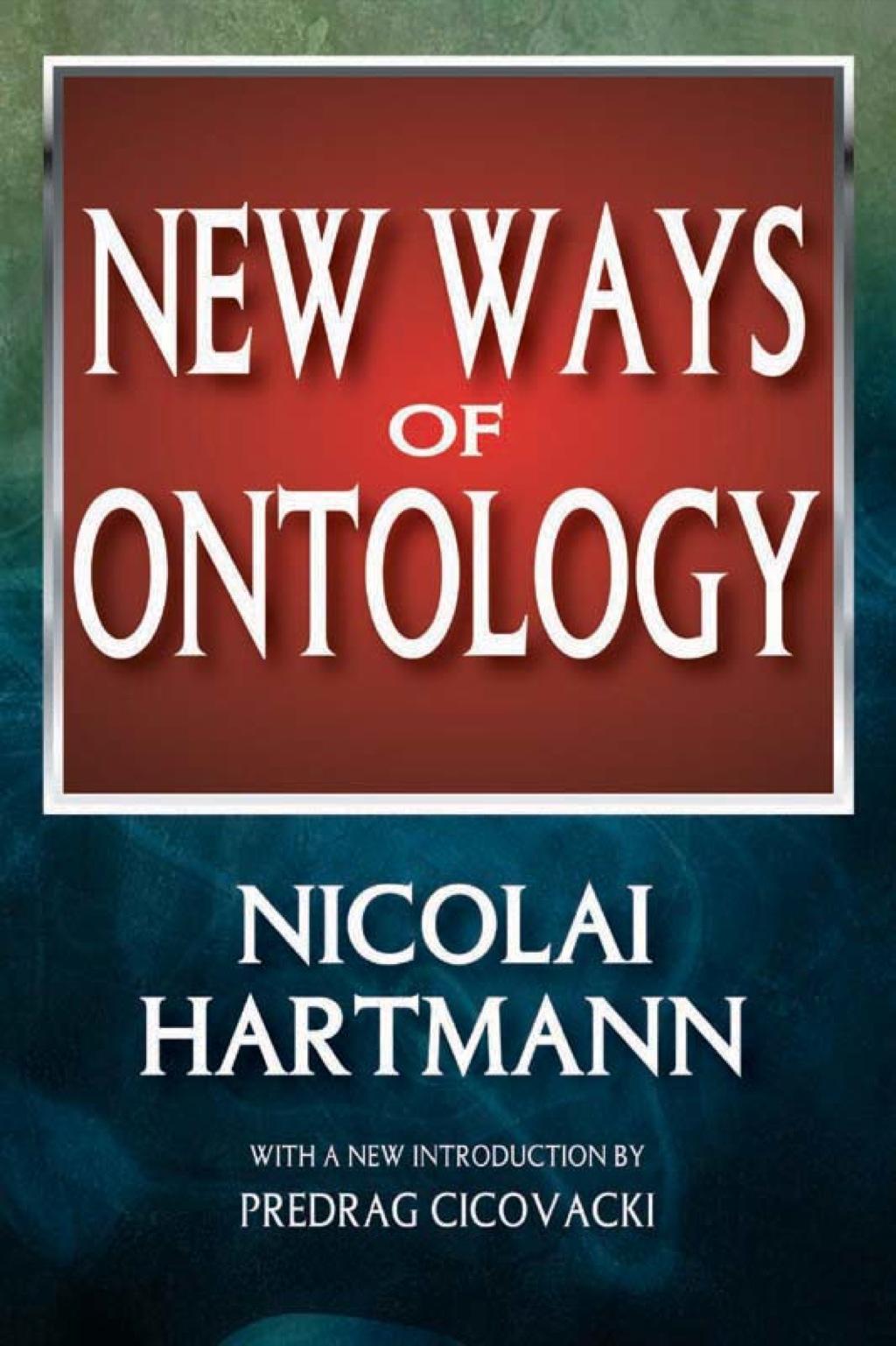 New Ways of Ontology (eBook)