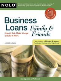 Business Loans From Family & Friends              by             Advani, Asheesh