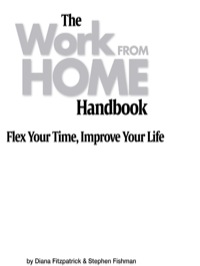 Work From Home Handbook              by             Fitzpatrick, Diana, J.D