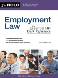 Employment Law              by             Lisa Guerin J.D.