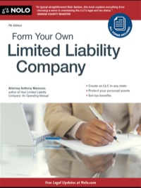 Form Your Own Limited Liability Company              by             Mancuso, Anthony