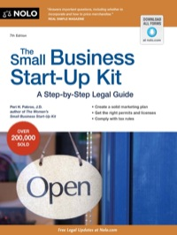Small Business Start-Up Kit, The              by             Peri, Pakroo, J.D.