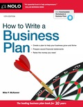 How to Write a Business Plan 9781413323207