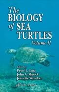 The Biology of Sea Turtles, Volume II 9781420040807R90