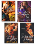 Improper Seduction Bundle with In the Warrior's Bed, Bedding the Enemy, & In Bed with A Stranger 9781420123296