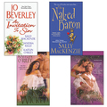 Hot Historicals Bundle with An Invitation to Sin, The Naked Baron, When His Kiss  Is Wicked, & Mastering the Marquess 9781420124064