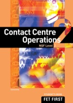 """Contact Centre Operations NQF2 Student's Book"" (9781430801337)"