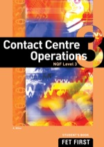 """Contact Centre Operations NQF3 Student's Book"" (9781430801344)"