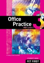 """Office Practice NQF3 Student's Book"" (9781430801511)"