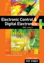 """Electronic Control & Digital Electronics NQF4 Student's Book"" (9781430801672)"