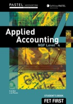 Applied Accounting NQF4 Student's eBook (9781431020614)